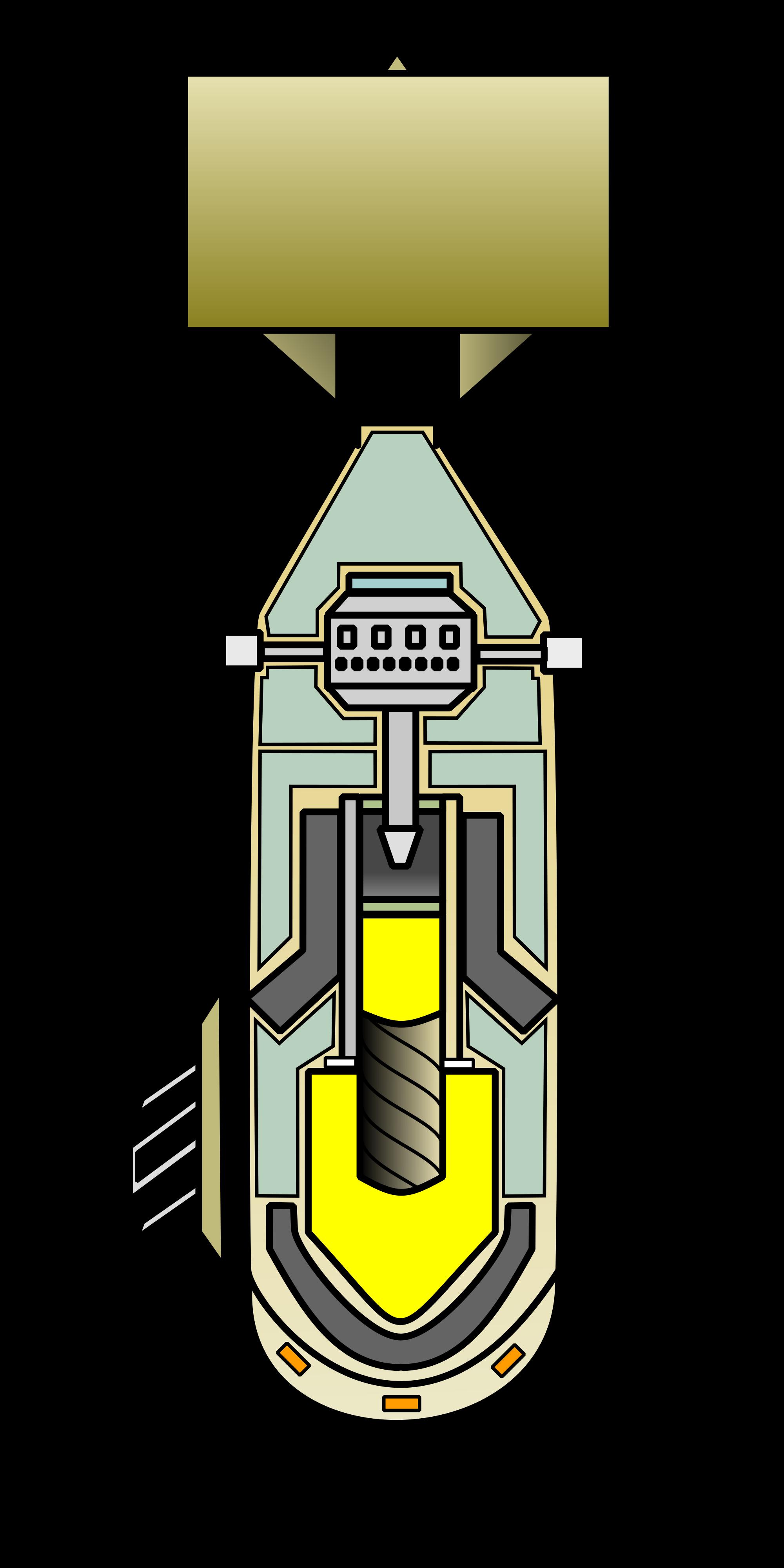 clip freeuse download File atom svg wikimedia. Bomb clipart little boy bomb.