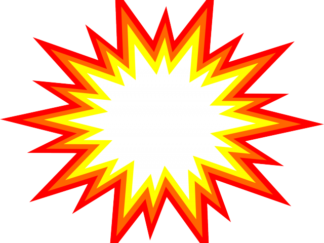 svg freeuse library Bomb clipart transparent background. Explosion free on real