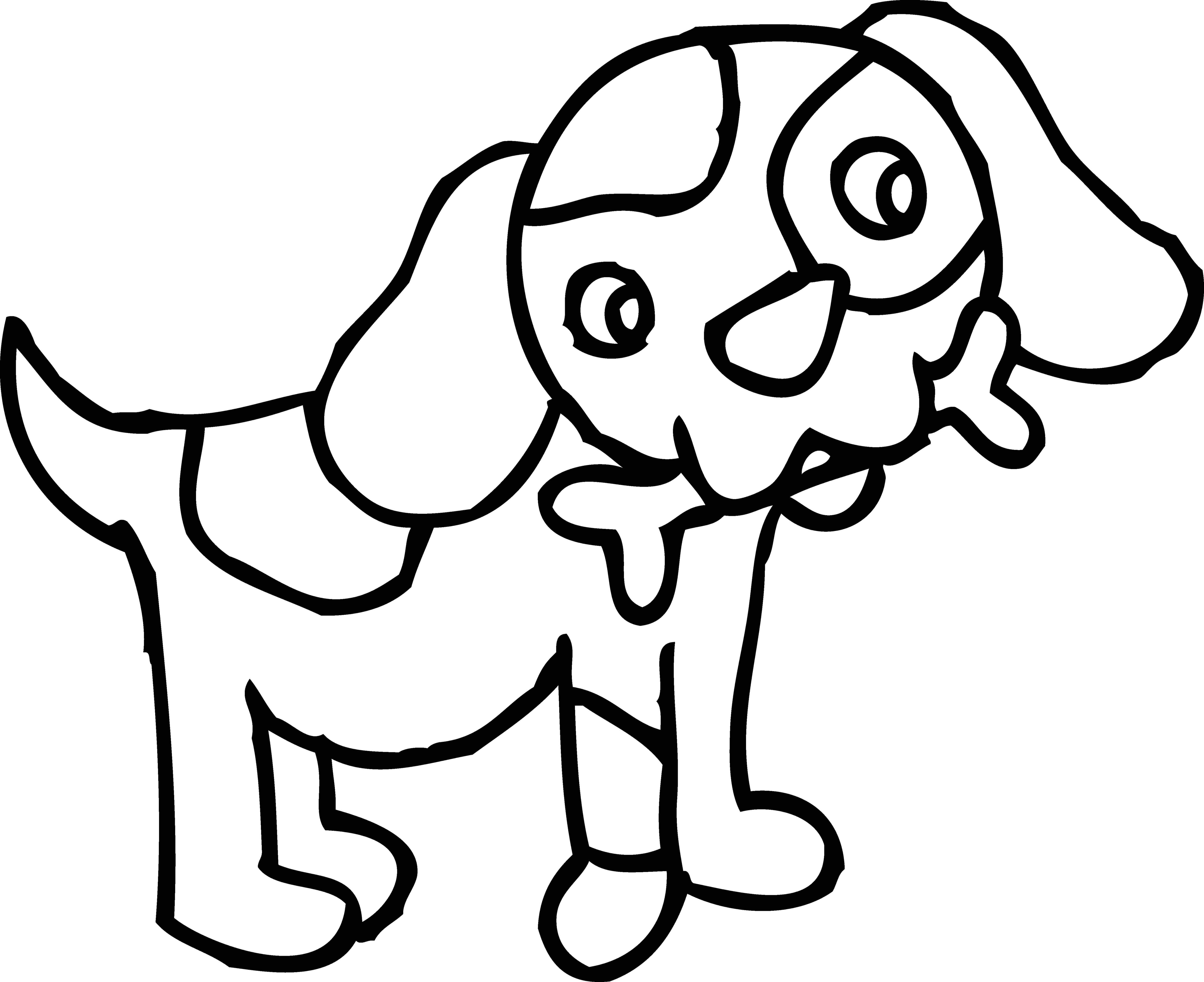 svg black and white Dog drawing at getdrawings. Pet clipart black and white