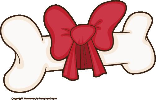 clip free Dog chew clip art. Bone transparent bow clipart