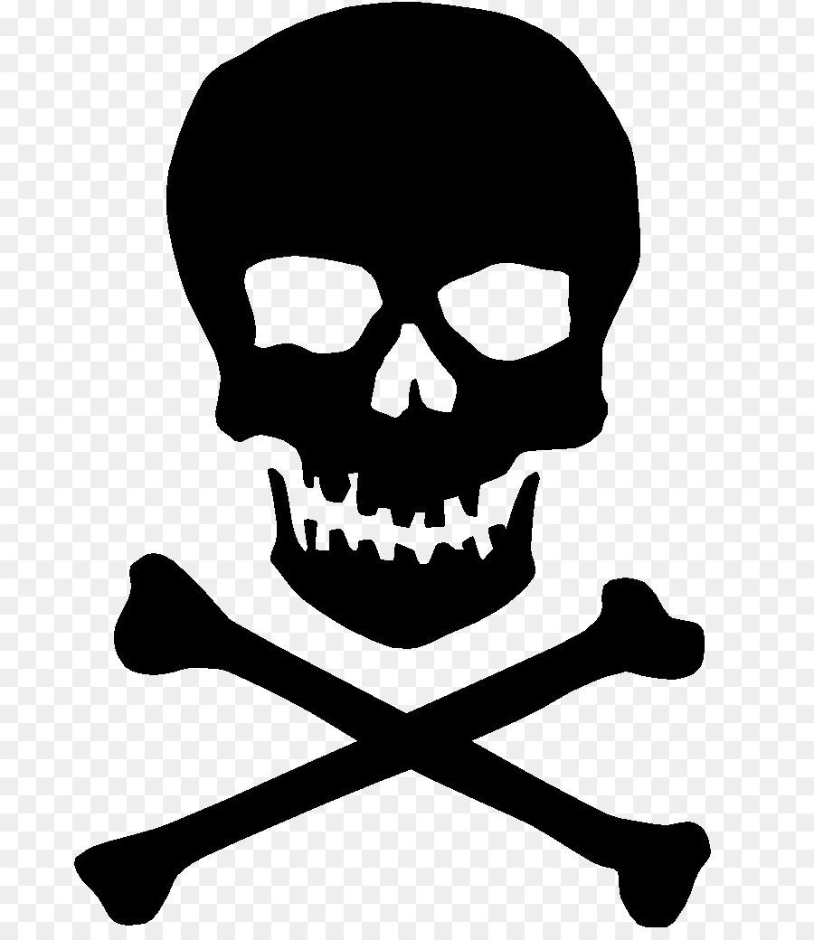 graphic download Skull and crossbones clipart. Bone transparent cross bones