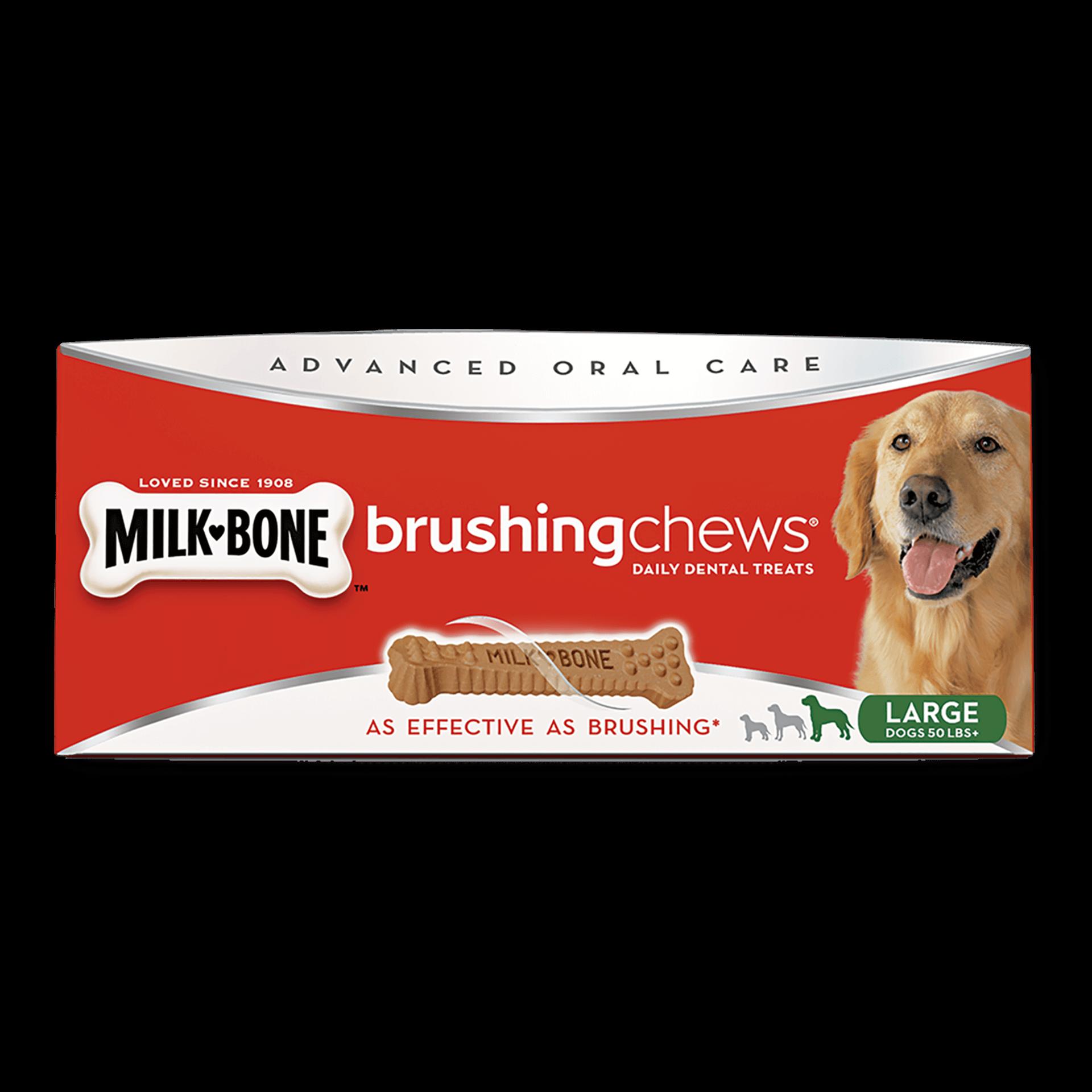 graphic transparent stock Milk brushing chews daily. Bone transparent dog treat