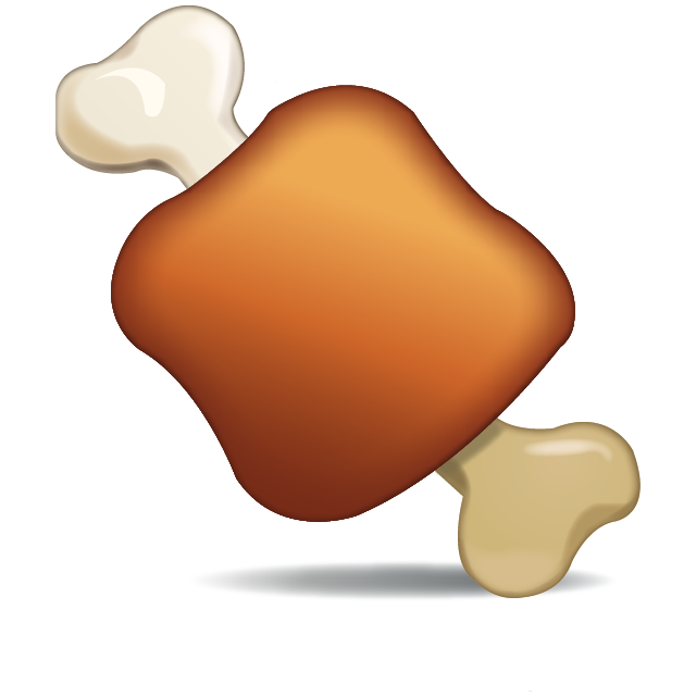 picture Bone transparent emoji. Download meat on icon