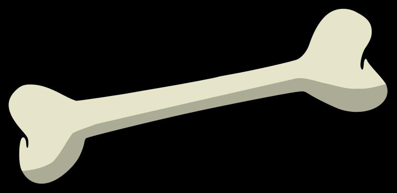jpg black and white Bones vector clipart. Dog bone png i