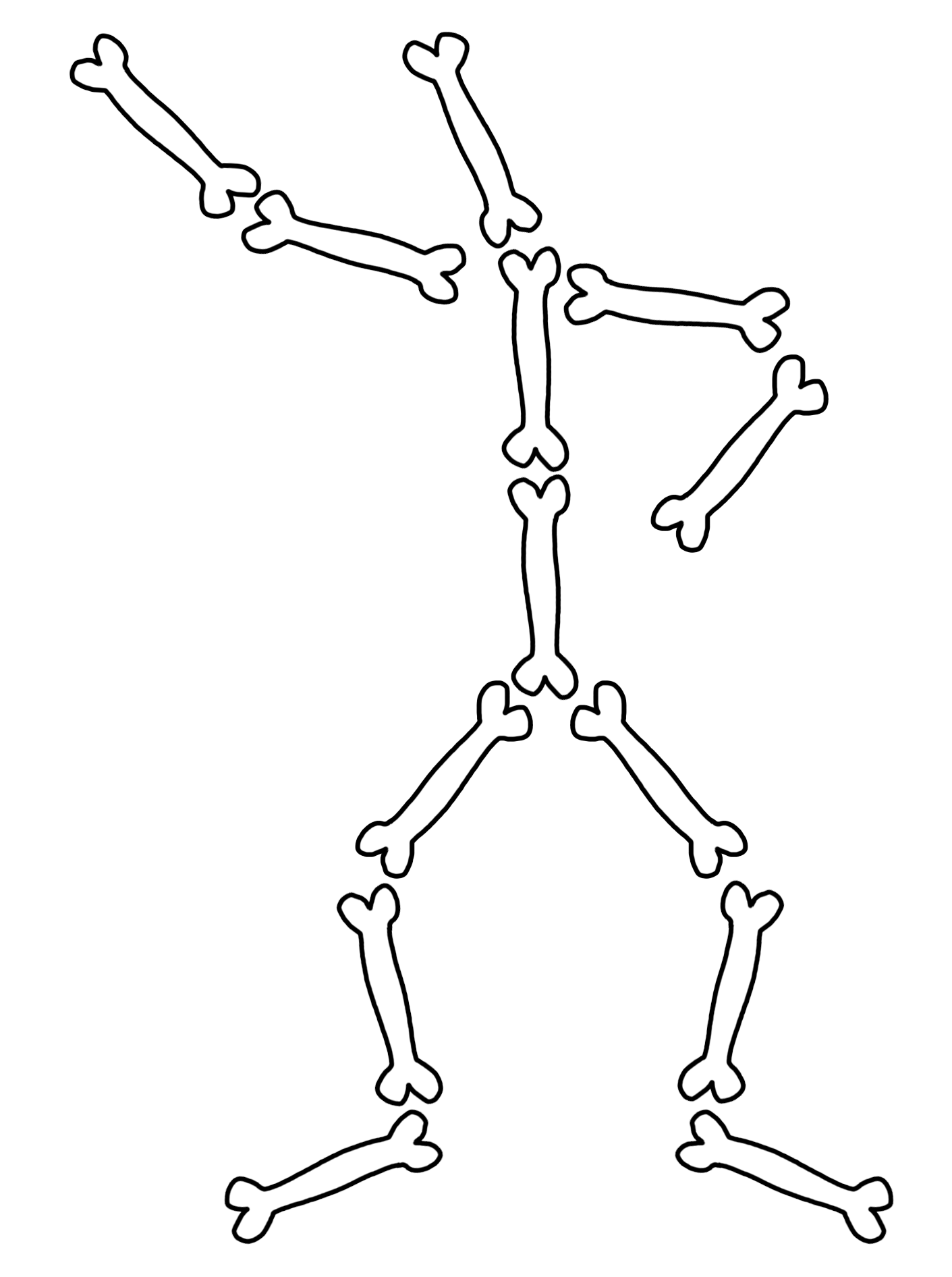 clip transparent download Collection of free skeleton. Bones transparent drawing