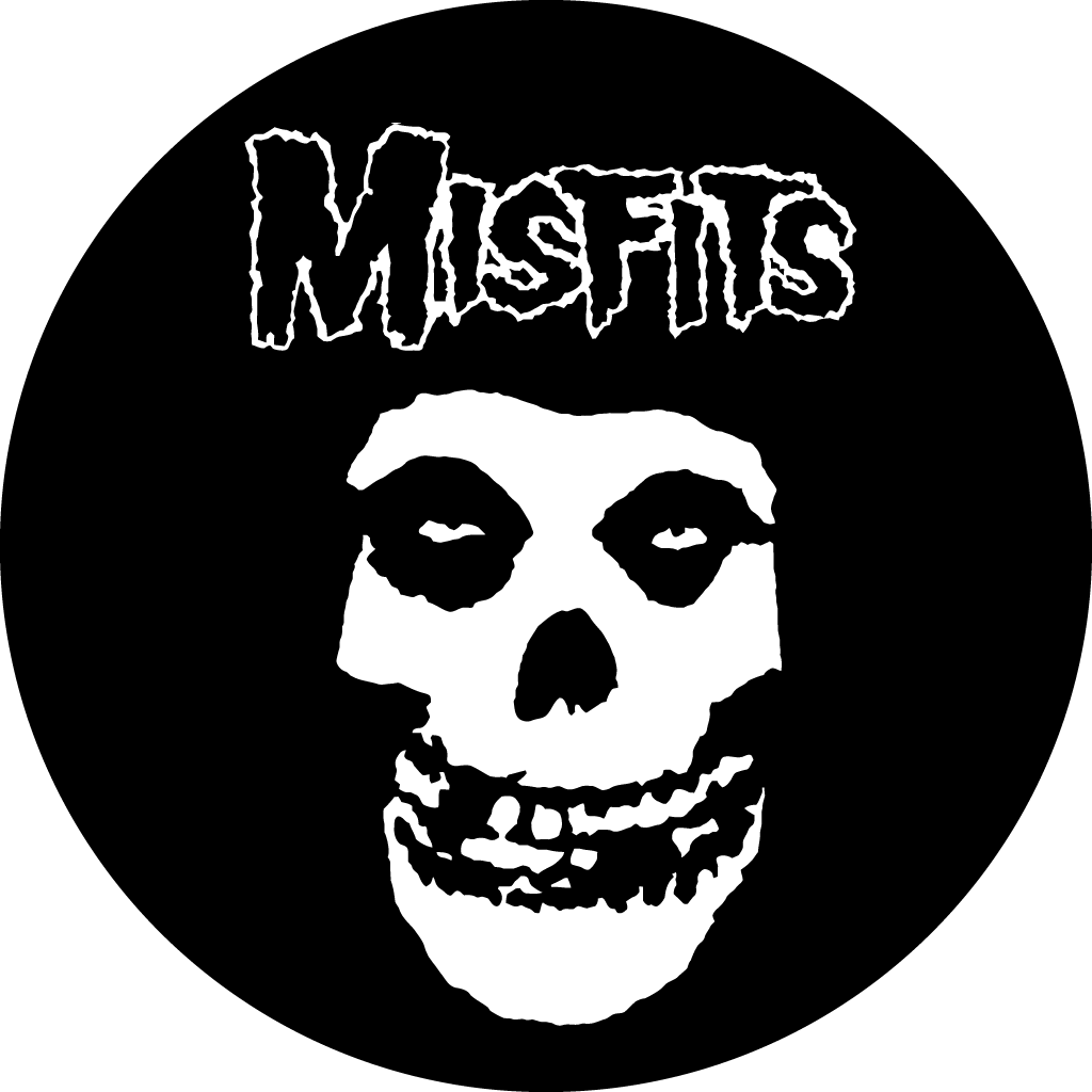 graphic royalty free library Bones transparent punk rock. Misfits logo musical artist