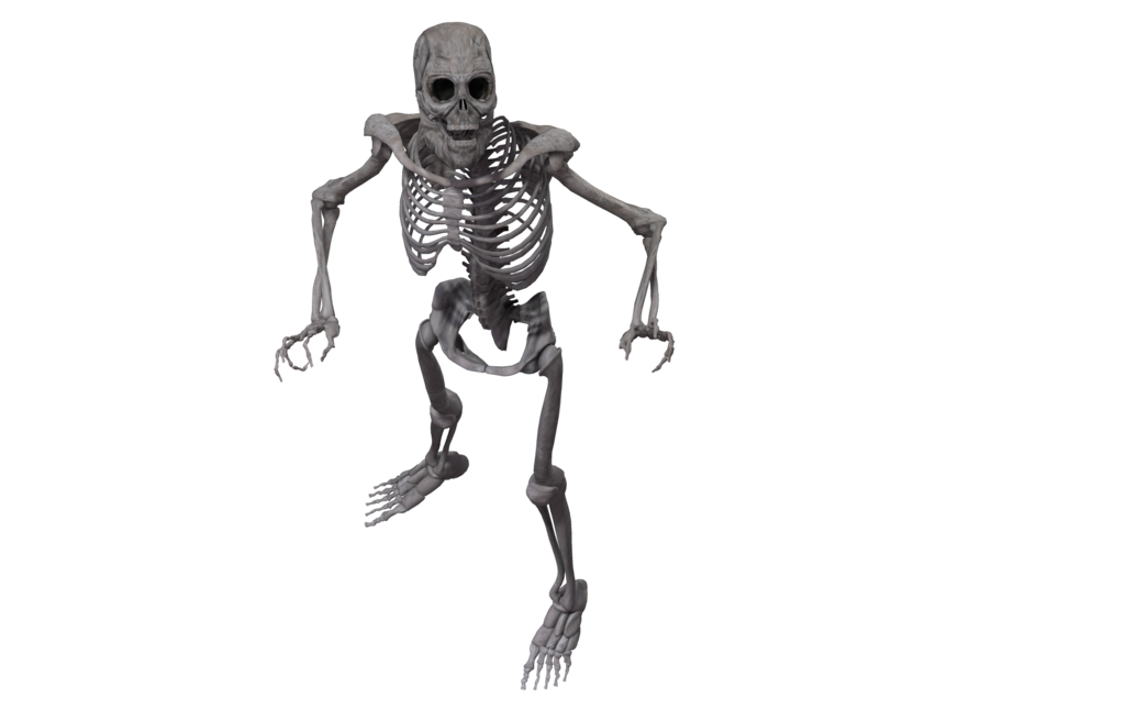 image library download Bones transparent spooky.  clear background for