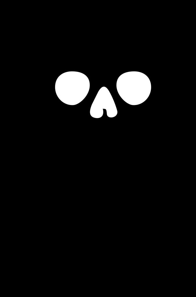 clipart royalty free stock Skull free png image. Bones vector blank