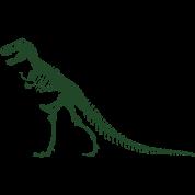 svg royalty free library Bones vector trex. T rex dinosaur skeleton