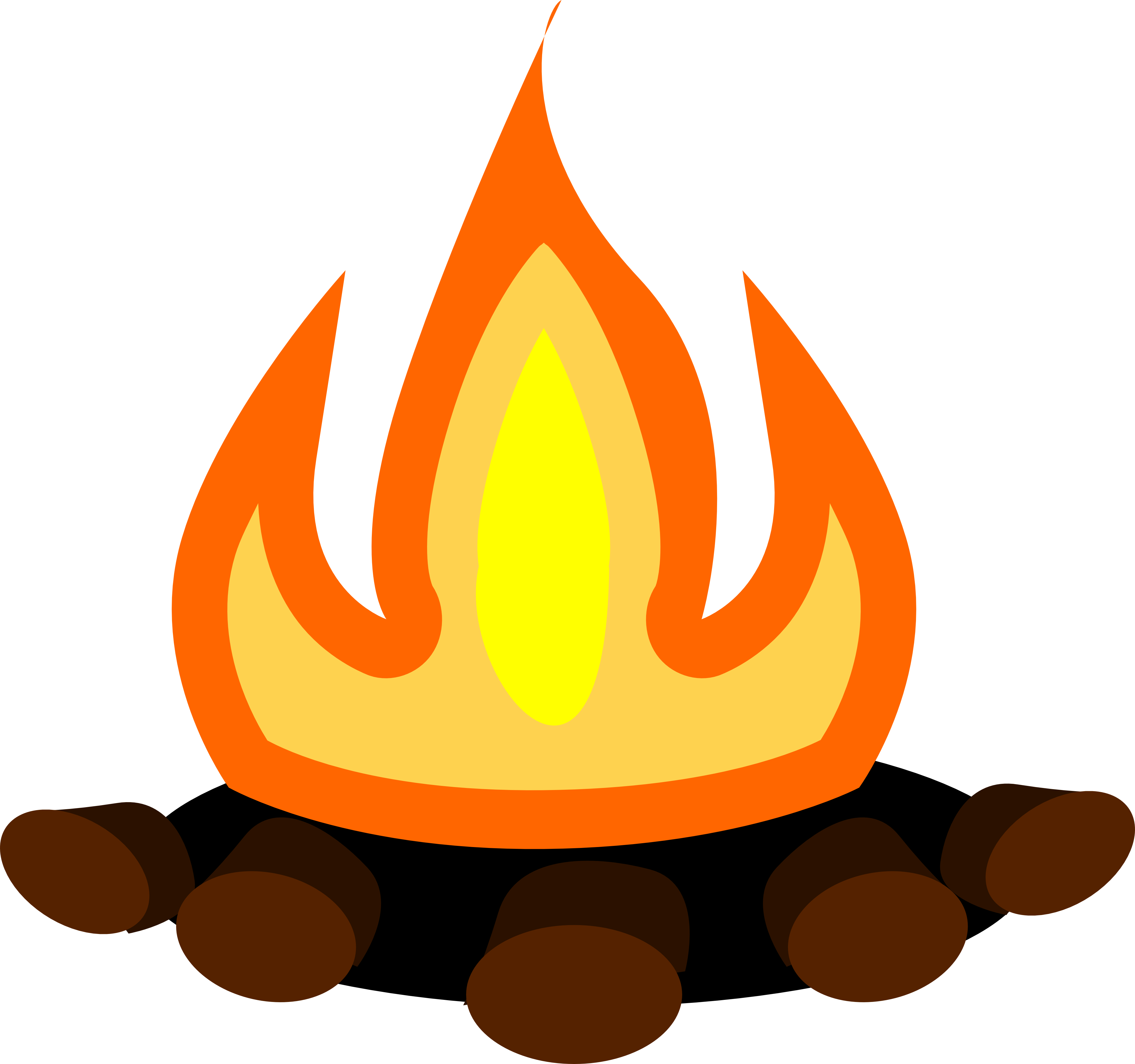 svg library Campfire clipart weenie roast. Bonfire heat free on.