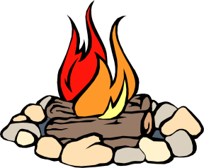 clipart freeuse Bonfire camfire free on. Campfire clipart weenie roast.