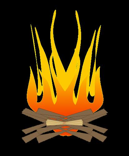 vector free Cilpart charming inspiration cliparts. Bonfire clipart.