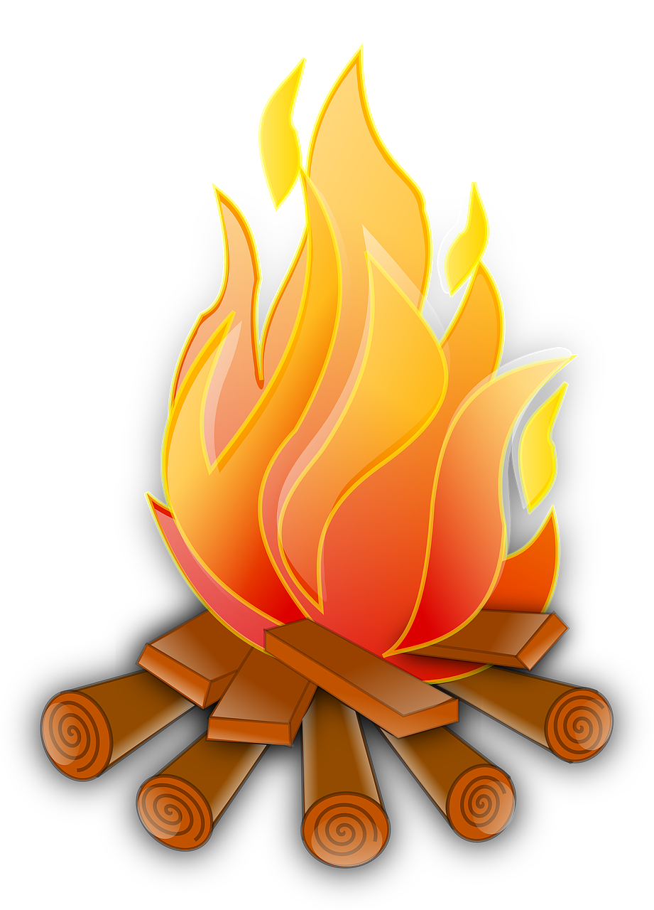 clipart free stock Campfire clipart weenie roast. Bonfire church free on.