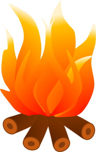 vector library  collection of fall. Campfire clipart weenie roast.