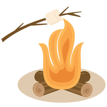 clip art freeuse stock Bonfire camfire free on. Marshmallow clipart animated.