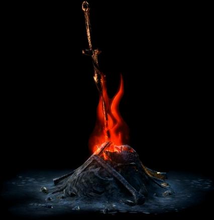 png royalty free stock Dark souls free on. Bonfire clipart braai