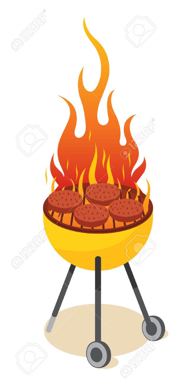 clip stock Bonfire clipart braai. Frames illustrations hd images