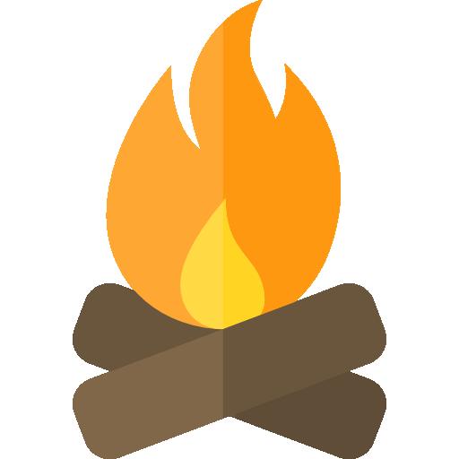 png stock bonfire icon