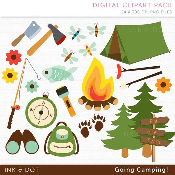 banner transparent Bonfire clipart campground. Camping fathers day tent
