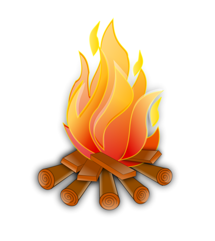 clip art transparent stock Bonfire clipart campground. Fire camp theme free