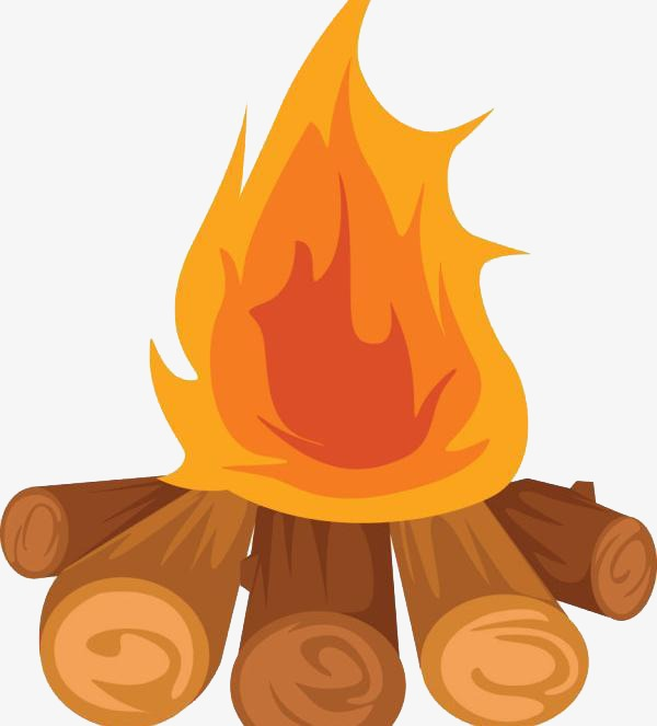 png library Bonfire clipart clip art. Flame wood png image.