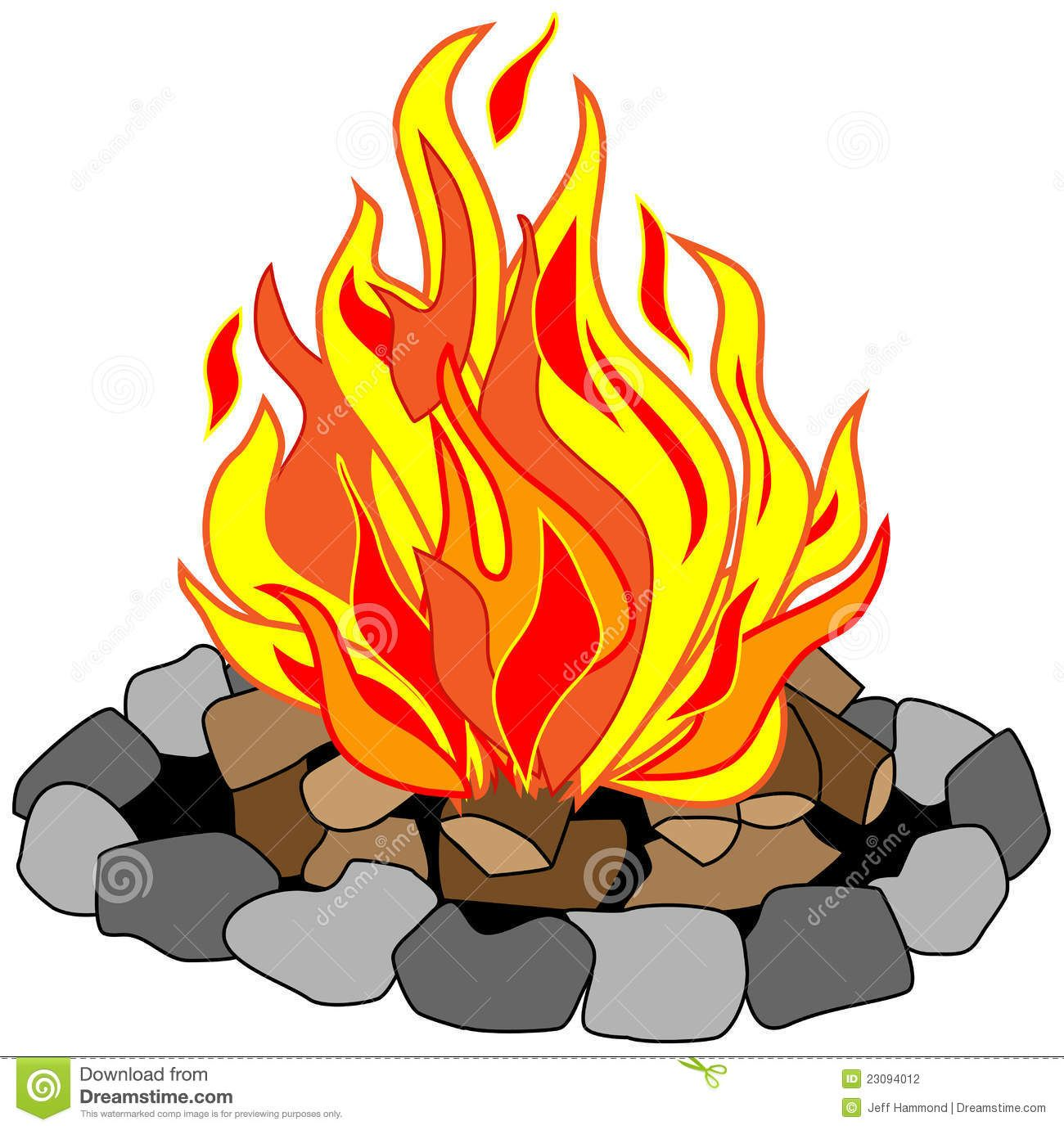 clipart freeuse library Campfire clip art free. Bonfire clipart fire pit
