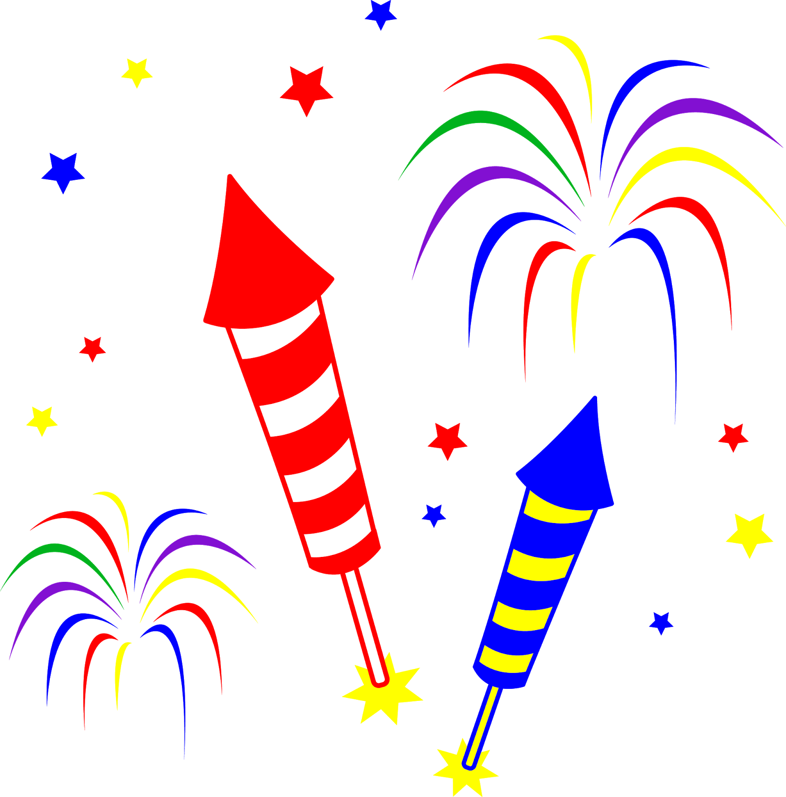 transparent library Bonfire clipart firework. Night