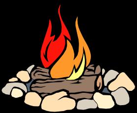 jpg black and white download Bonfire cartoon panda free. Campfire clipart.