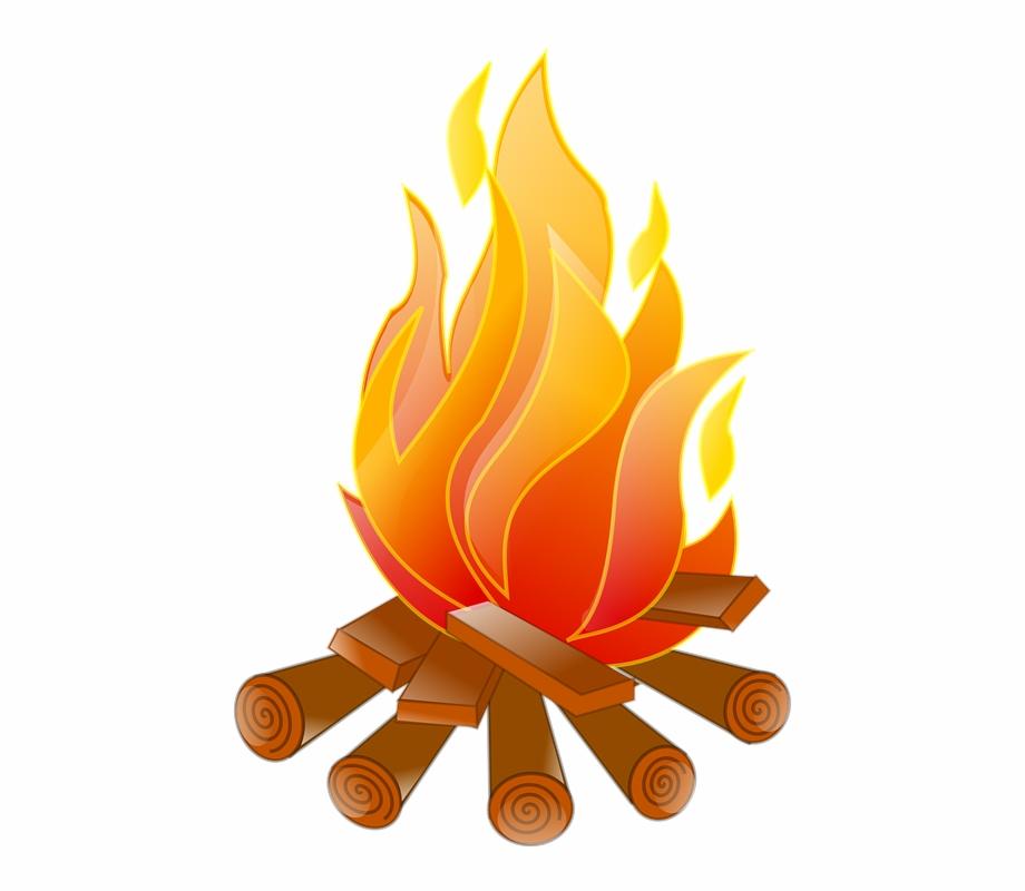 image black and white Bonfire clipart fogata. Png pic campfire bon.