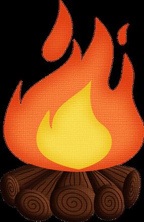 clipart freeuse library Imprimibles im genes y. Bonfire clipart fogata