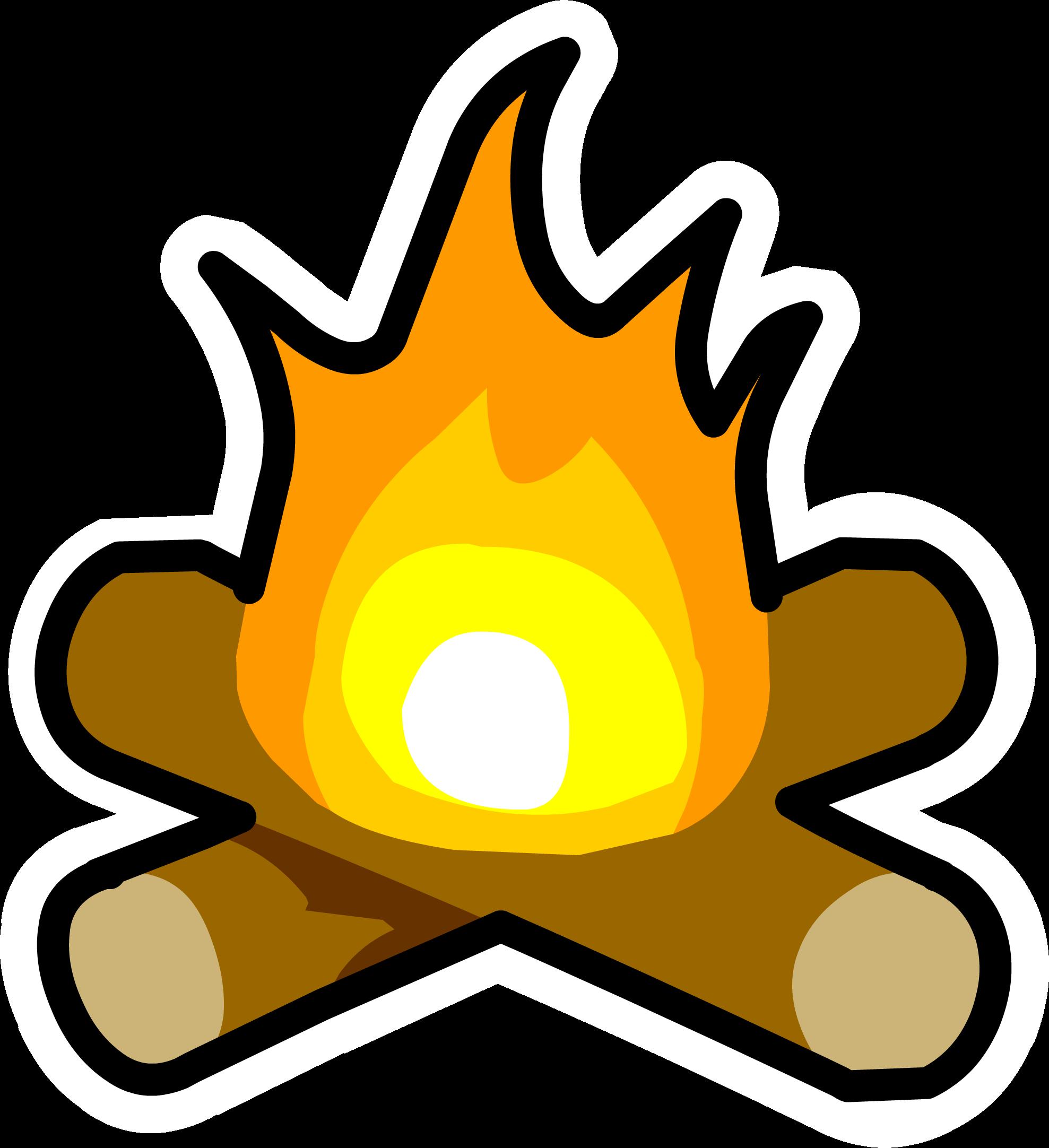 jpg download Bonfire clipart fogata. Pin club penguin wiki