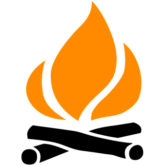 clip freeuse Camp fire free on. Campfire clipart api.