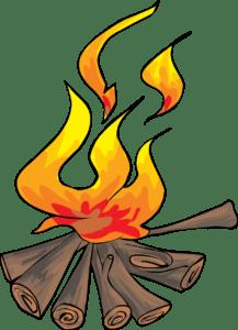 black and white stock Bonfire clipart fogata. Friday oct dunlap lake