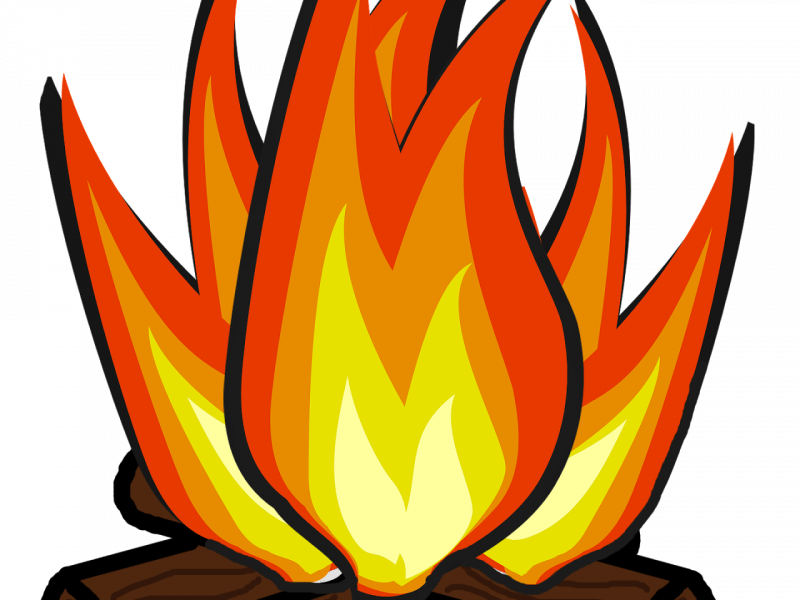 banner royalty free stock At getdrawings com for. Bonfire clipart free