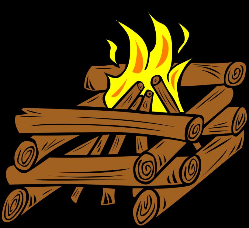 clip free library Bonfire clipart free. Log cabin campfire tipi