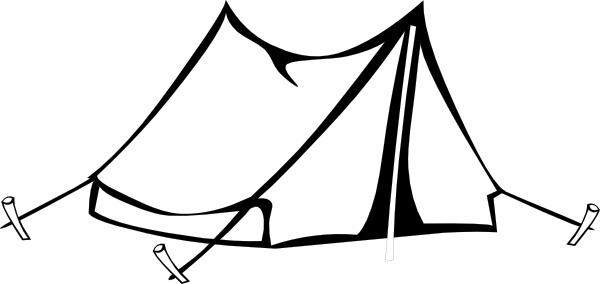 jpg freeuse Tent And Campfire Clipart