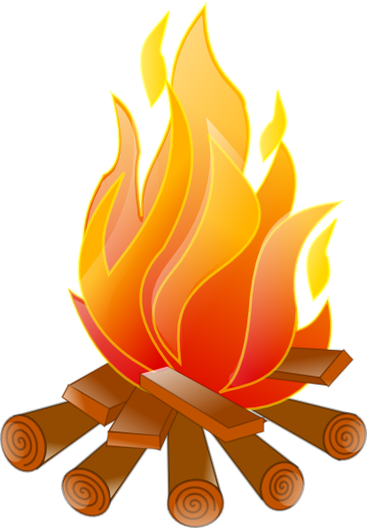 clip Clip art no shadow. Out clipart campfire