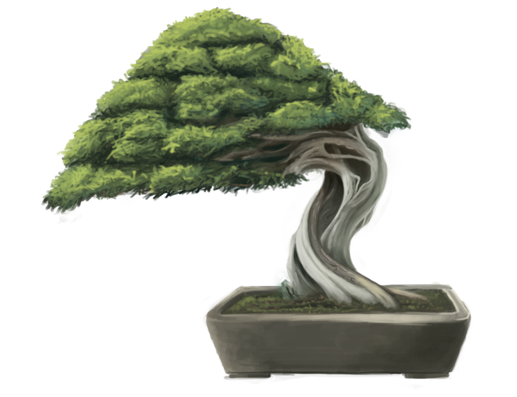 graphic freeuse library Bonsai Tree by minums on DeviantArt