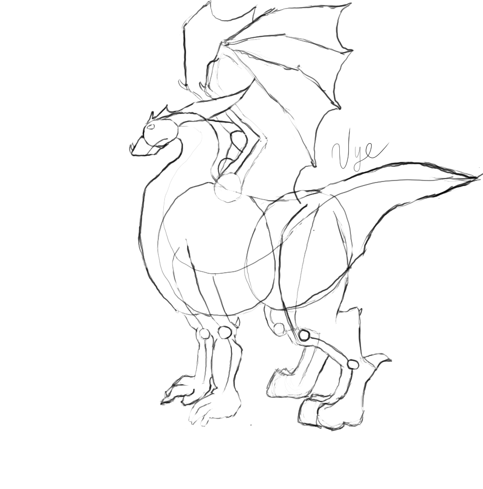 jpg black and white library Dragon Images For Drawing at GetDrawings