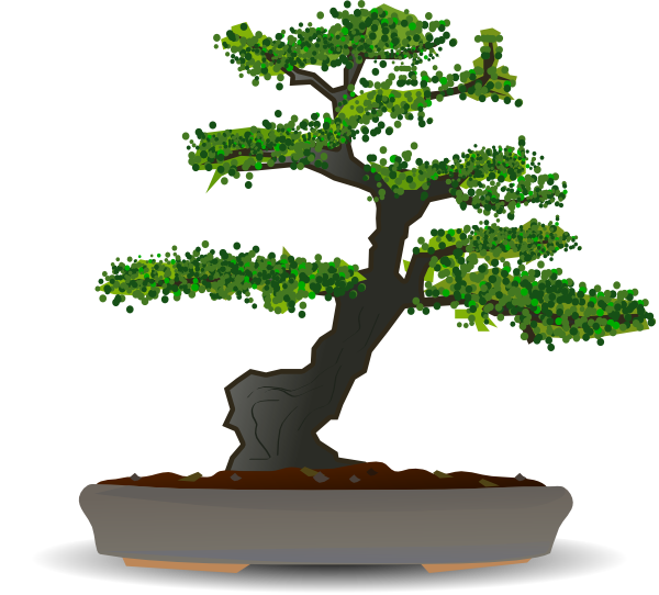 clip art stock Bonsai Tree Clipart