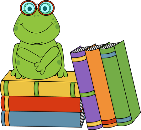 picture transparent Clip art images frog. Book clipart