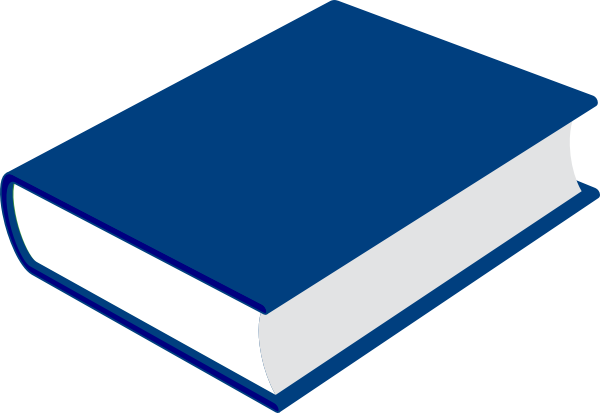 svg library library Vector books blue. Book clip art at
