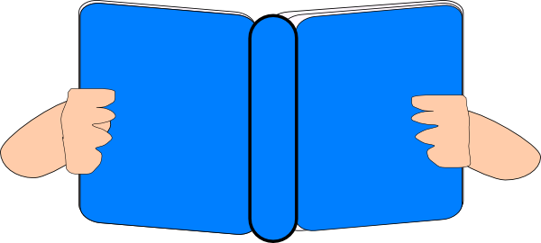 image library stock Book clipart blue. Clip art at clker