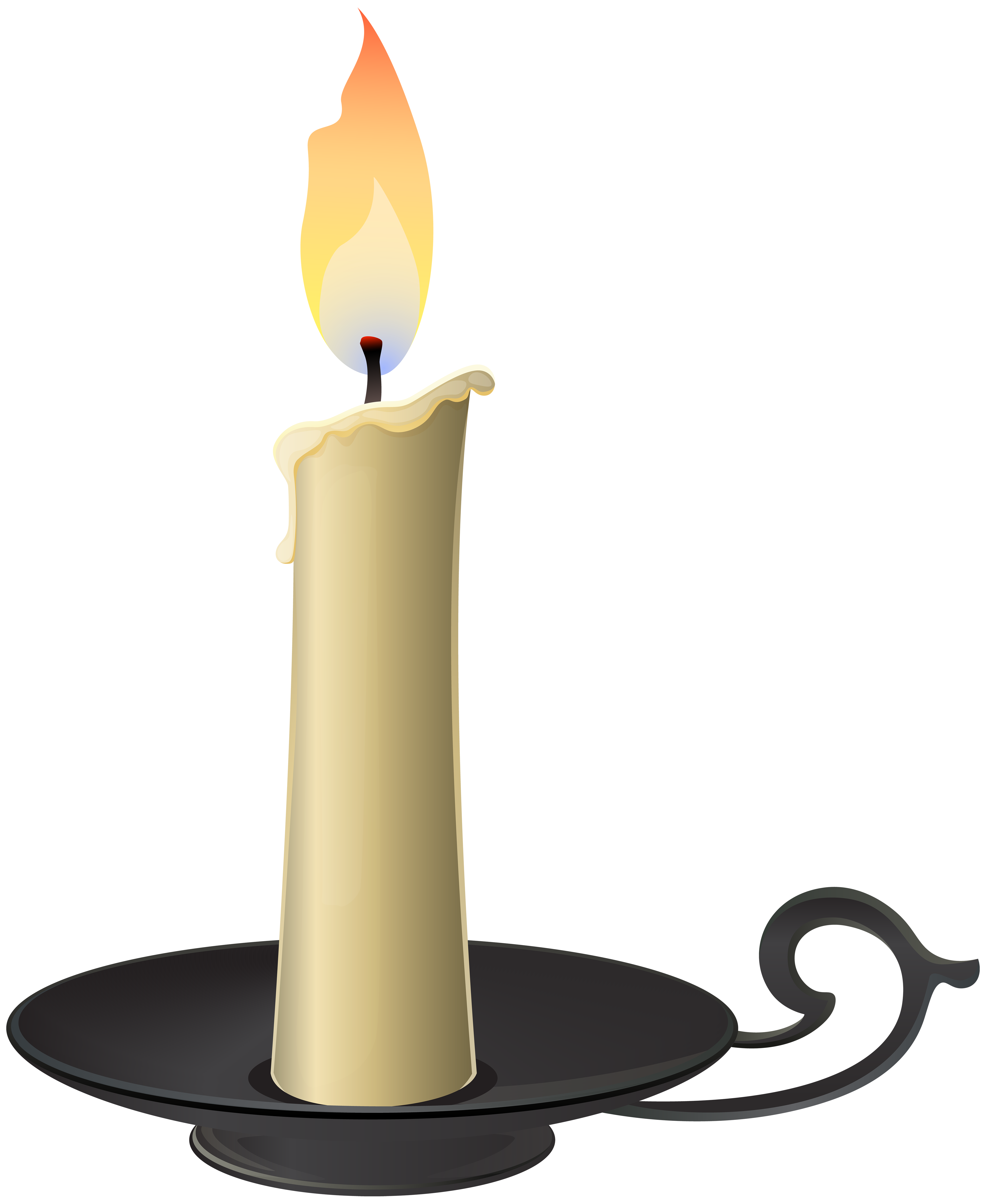svg free download Clock clipart candle. Candlestick png clip art.