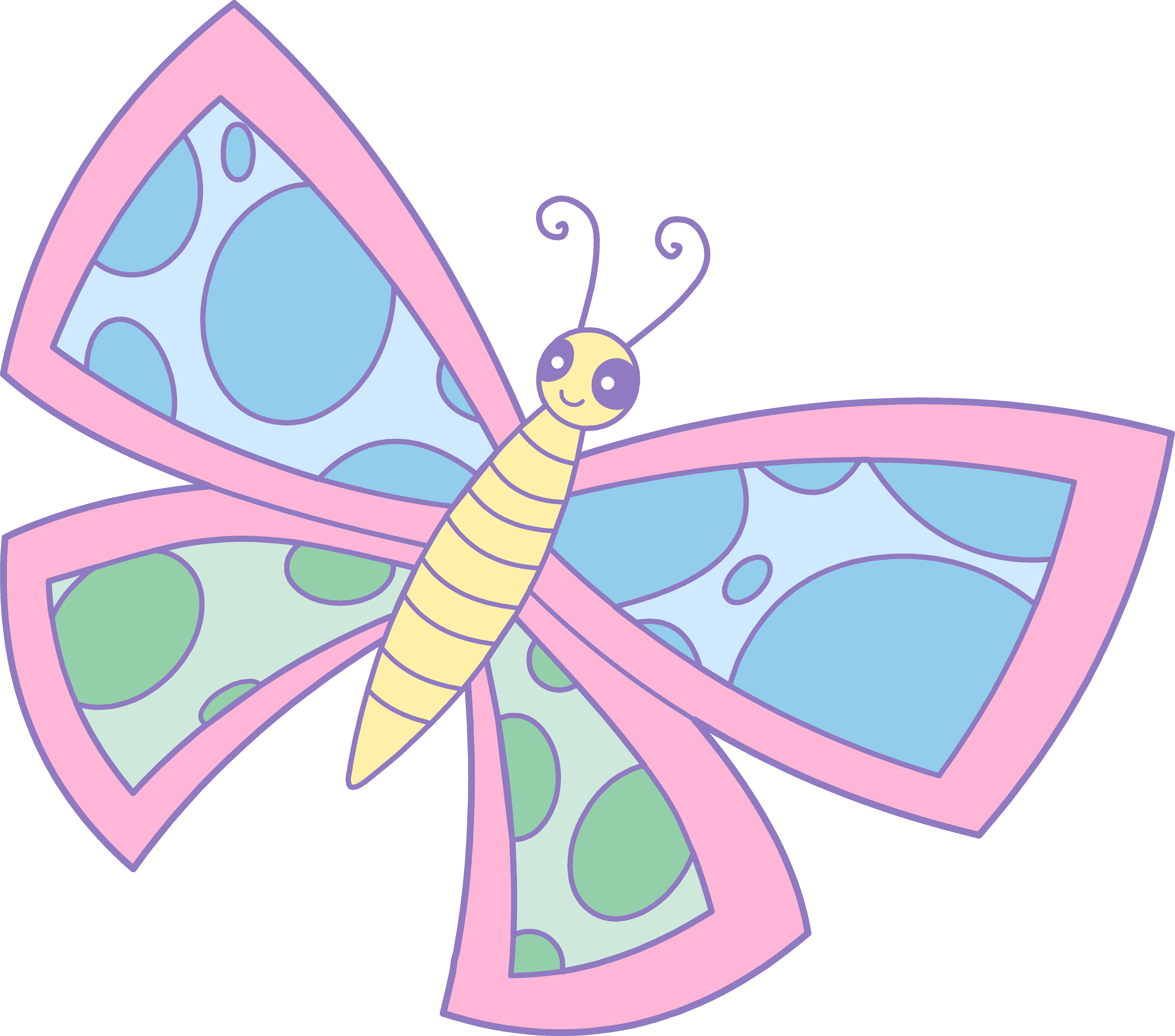 graphic library library Butterfly design free on. Book clipart pastel