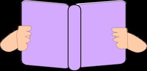 free stock Purple clip art at. Book clipart pastel