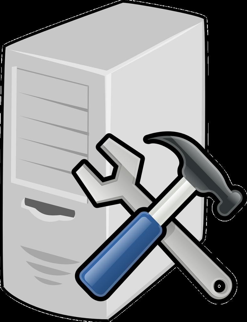 transparent library Computer in the billings. Book clipart repair