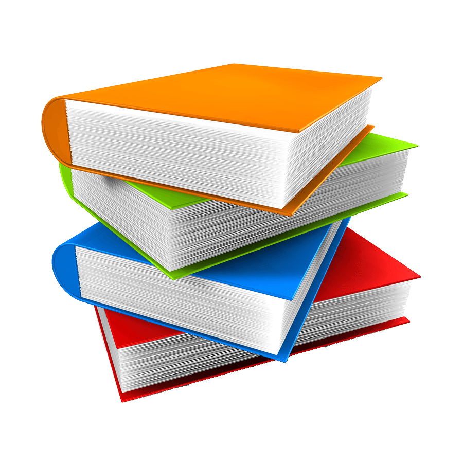 jpg transparent library Book Stack transparent PNG