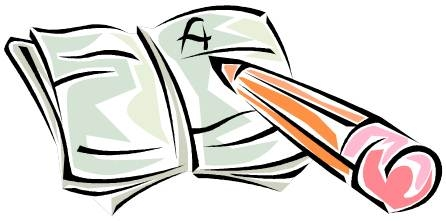 image library Writer clipart book. Free writing cliparts download