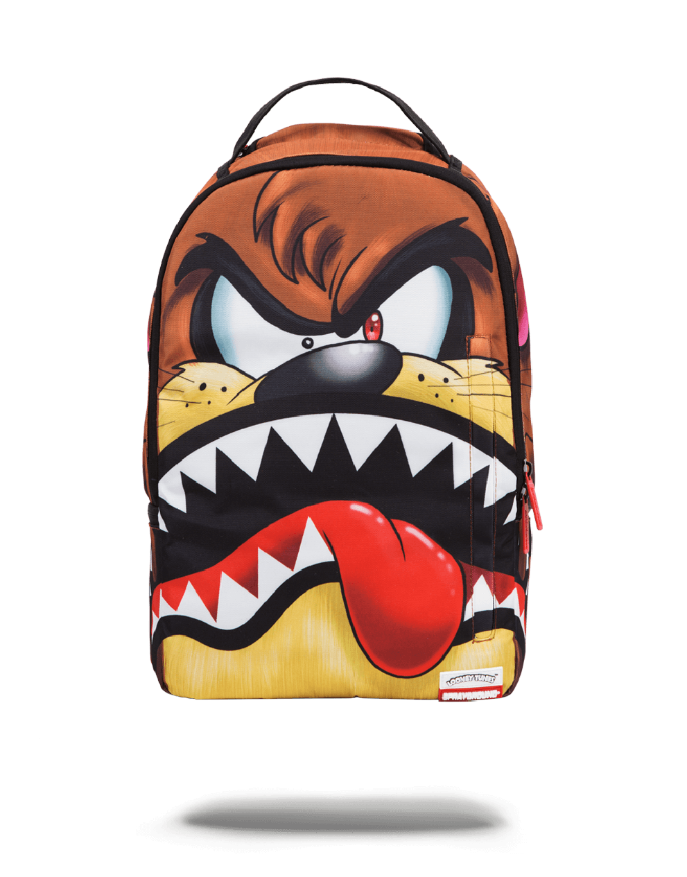 clipart black and white download Bookbag clipart blessing backpack. Looney tunes taz shark